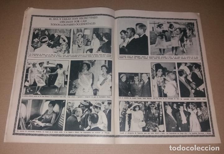 Coleccionismo de Revistas y Periódicos: Revista del corazón. Biografía Farah, La actualidad española - Foto 4 - 140617414