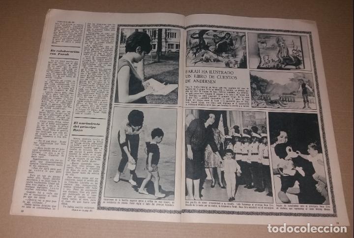 Coleccionismo de Revistas y Periódicos: Revista del corazón. Biografía Farah, La actualidad española - Foto 5 - 140617414