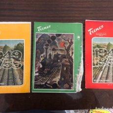 Coleccionismo de Revistas y Periódicos: LOTE 3 REVISTAS FERROVIARIO TRENES RENFE. Lote 140618556