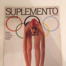 Coleccionismo de Revistas y Periódicos: REVISTA SUPLEMENTO SEMANAL Nº248 -26 JUL. 1992. JORDAN, MAGIC JOHNSON, MIGUEL ORTÍZ, NARCIS SERRA.... Lote 140629489