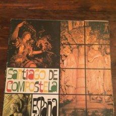 Coleccionismo de Revistas y Periódicos: ANTIGUO FOLLETO / GUIA DE SANTIAGO DE COMPOSTELA AÑOS 70-80. Lote 140661870