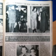 Coleccionismo de Revistas y Periódicos: GRACE KELLY GRACIA DE MONACO CAROLINA VICTOR MANUEL MARINA DORIA. Lote 140695380