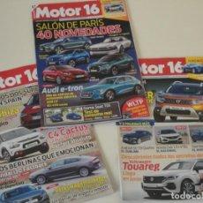Coleccionismo de Revistas y Periódicos: LOTE 3 REVISTAS MOTOR 16. AÑO 2018. Lote 140707734
