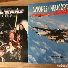 Coleccionismo de Revistas y Periódicos: AVIONES Y HELICOPTEROS DE GUERRA / ORBIS FABRI / 52 FASCICULOS / 2002 / DOS ARCHIVADORES. Lote 140719650