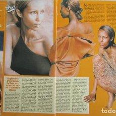 Coleccionismo de Revistas y Periódicos: RECORTE REVISTA SEMANA 2984 1997 DONA KARAN, IMAN. Lote 140731070