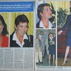 Coleccionismo de Revistas y Periódicos: RECORTE REVISTA SEMANA 2984 1997 CAROLINA DE MONACO. Lote 140731086