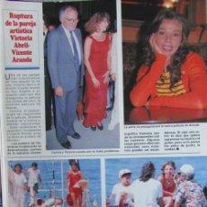 Coleccionismo de Revistas y Periódicos: RECORTE REVISTA SEMANA 2984 1997 VICTORIA ABRIL. VICENTE ARANDA. BIENVENDA PEREZ. JOAQUIN CORTES. Lote 140731290