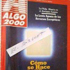 Coleccionismo de Revistas y Periódicos: ANTIGUA REVISTA ALGO - MAYO 1988 -. Lote 140739662