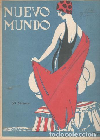 NUEVO MUNDO. AÑO XXX Nº 1541. 3 DE AGOSTO DE 1923. PORTADA DE POVO (Coleccionismo - Revistas y Periódicos Antiguos (hasta 1.939))