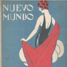 Coleccionismo de Revistas y Periódicos: NUEVO MUNDO. AÑO XXX Nº 1541. 3 DE AGOSTO DE 1923. PORTADA DE POVO. Lote 140745554