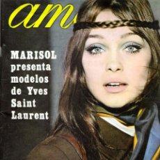 Coleccionismo de Revistas y Periódicos: REVISTA AMA NUMERO 215 AÑO 1968 (PORTADA MARISOL). Lote 140772522