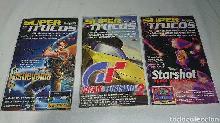 SUPER TRUCOS N°17-18-23 REVISTA SUPERJUEGOS PLAYSTATION 1 PSX (Coleccionismo - Revistas y Periódicos Modernos (a partir de 1.940) - Otros)