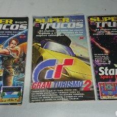Coleccionismo de Revistas y Periódicos: SUPER TRUCOS N°17-18-23 REVISTA SUPERJUEGOS PLAYSTATION 1 PSX. Lote 140795196