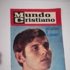 Coleccionismo de Revistas y Periódicos: REVISTA MUNDO CRISTIANO NUMERO 19 1965 EL CORDOBES. Lote 140914470