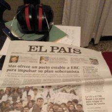 Coleccionismo de Revistas y Periódicos: EL PAÍS 27 NOVIEMBRE 2012. Lote 141011970