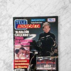 Coleccionismo de Revistas y Periódicos: TELE INDISCRETA - 1986 - EL HALCON CALLEJERO, DINASTIA, FALCON CREST, ENTRE AMIGOS, JIMENEZ DEL OSO. Lote 141090662