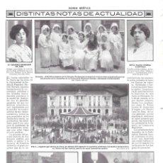 Coleccionismo de Revistas y Periódicos: 1913 HOJA REVISTA SEVILLA CARMONA ALUMNOS UNIVERSIDAD -ESCUELA SUPERIOR COMERCIO TOMÁS IBARRA LUCA D. Lote 141127826