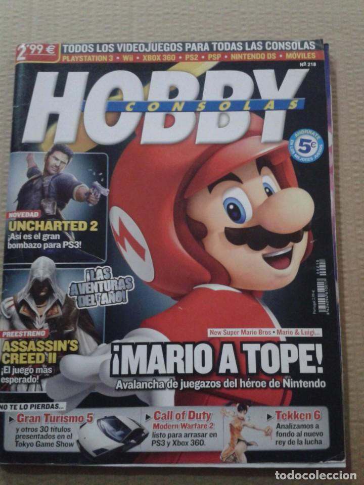 HOBBY CONSOLAS Nº218 (Coleccionismo - Revistas y Periódicos Modernos (a partir de 1.940) - Otros)