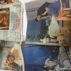 Coleccionismo de Revistas y Periódicos: REVISTAS SIGMA 1956 - 1962. Lote 141244318