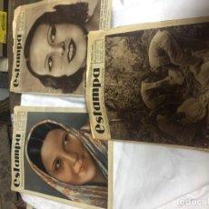 Coleccionismo de Revistas y Periódicos: PERIODICO ANTIGUO ESTAMPA 1934. Lote 141254542
