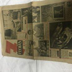 Coleccionismo de Revistas y Periódicos: PERIODICO SIETE FLECHAS 1952. Lote 141256702