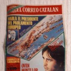 Coleccionismo de Revistas y Periódicos: EL CORREO CATALÁN SUPLEMENTO SEMANAL DOMINGO 4 ABRIL 1976. Lote 141661869