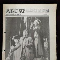 Coleccionismo de Revistas y Periódicos: DIARIO DE LA EXPO 1 DE JUNIO 1992 N°294. Lote 141714742