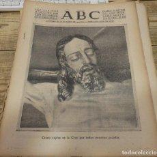 Coleccionismo de Revistas y Periódicos: SEMANA SANTA SEVILLA,19 DE MARZO DE 1940, PERIODICO ABC,. Lote 141757322