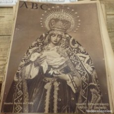 Coleccionismo de Revistas y Periódicos: ABC 20 DE MARZO DE 1940, NUMERO EXTRAORDINARIO SEMANA SANTA DE SEVILLA,36 PAGINAS. Lote 141758338