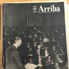 Coleccionismo de Revistas y Periódicos: ARRIBA (29-7-1959) GAVA LLOBREGAT BAÑOS CAPRI CICLISMO PARIS TOUR FRANCIA BAHAMONTES. Lote 141812782