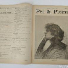 Coleccionismo de Revistas y Periódicos: PEL & PLOMA # 3. 1 JULIO 1900 RAMON CASAS. Lote 141899534