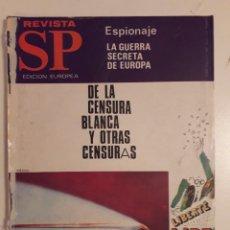 Coleccionismo de Revistas y Periódicos: REVISTA SP 3 NOVIEMBRE 1968.LA CENSURA EN ESPAÑA.CRISIS DE LOS CHARTERS EN CANARIAS.GARCIA MARQUEZ . Lote 141936850