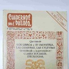 Coleccionismo de Revistas y Periódicos: REVISTA: CUADERNOS PARA EL DIALOGO NUM XXXII EXTRAORDINARIO, DICIEMBRE 1972 - AÑO INTERNACIONAL .... Lote 141943797
