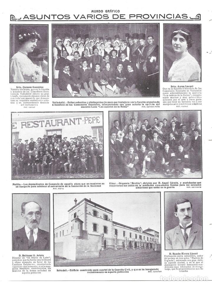1914 hoja revista valladolid función pro comedo - Comprar Revistas y ...