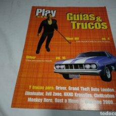Coleccionismo de Revistas y Periódicos: GUÍA SILENT HILL + DRIVER - PLAY MANÍA GUÍAS & TRUCOS. Lote 142374028