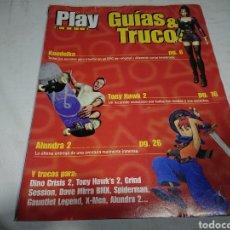 Coleccionismo de Revistas y Periódicos: GUÍA KOUDELKA + ALUNDRA 2 - PLAY MANÍA GUÍAS & TRUCOS PLAYSTATION. Lote 142374498