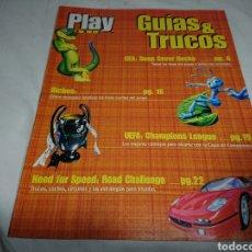 Coleccionismo de Revistas y Periódicos: GUÍAS GEX + BICHOS + NFS - PLAY MANÍA GUÍAS & TRUCOS PLAYSTATION. Lote 142374754