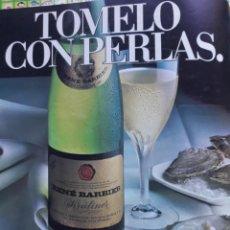 Coleccionismo de Revistas y Periódicos: ANUNCIO RENE BARBIER . Lote 142381214