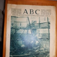 Coleccionismo de Revistas y Periódicos: ANTIGUO PERIODICO - ABC - NÚMERO EXTRA - 25 SEPTIEMBRE 1928 - 40 PAG - INCENDIO CINE NOVEDADES. Lote 142732786