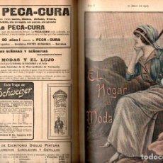 Coleccionismo de Revistas y Periódicos: EL HOGAR Y LA MODA - AÑO COMPLETO 1913 - 47 REVISTAS ENCUADERNADAS. Lote 142775630