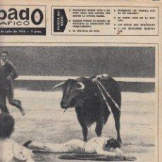 Coleccionismo de Revistas y Periódicos: REVISTA SABADO GRAFICO Nº 405 AÑO 1964. EL CORDOBES. BODA AGUSTIN LARA. . Lote 142779238