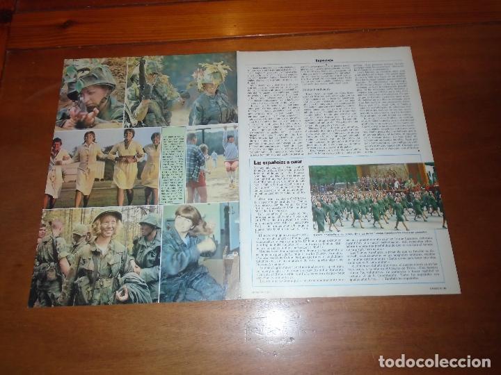 Coleccionismo de Revistas y Periódicos: RETAL 1978: MUJERES MILITARES EN EL EJÉRCITO EEUU Y EN SITUACIÓN EN ESPAÑA - Foto 2 - 142833114