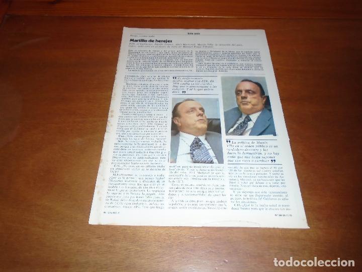 RETAL 1978: ENTREVISTA A MANUEL FRAGA (Coleccionismo - Revistas y Periódicos Modernos (a partir de 1.940) - Otros)