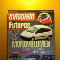 Coleccionismo de Revistas y Periódicos: REVISTA AUTOPISTA Nº 1798. 28 DE DICIEMBRE DE 1993 AL 3 DE ENERO DE 1994. Lote 142928166