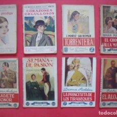 Coleccionismo de Revistas y Periódicos: LA NOVELA ROSA.-NOVELAS.-LOTE DE 8 NOVELAS ANTIGUAS.-AÑOS 30.. Lote 142978606