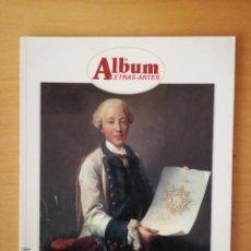 Coleccionismo de Revistas y Periódicos: REVISTA ALBUM LETRAS - ARTES Nº 55 (IRVING PENN, ZARAGOZA, ANTONIO COLINAS, HANNOVER, MIRADA 98...). Lote 143046886