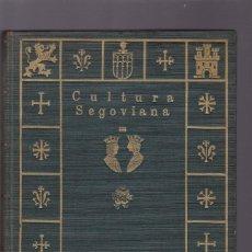 Coleccionismo de Revistas y Periódicos: CULTURA SEGOVIANA - AÑO I / Nº I 1931 A AÑO II / Nº 7 1932 - ILUSTRADOS. Lote 143073354
