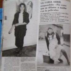 Coleccionismo de Revistas y Periódicos: RECORTE EL LUTE RECORTE VICTORIA ABRIL. Lote 143100760