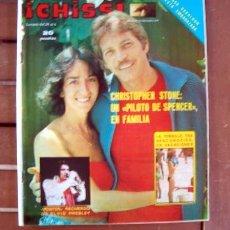 Coleccionismo de Revistas y Periódicos: REVISTA CHISS / CHRISTOPHER STONE, SILVIA TORTOSA, ELVIS PRESLEY, JOHN PHILLIP DAW, EVA MILLER ++. Lote 143100838