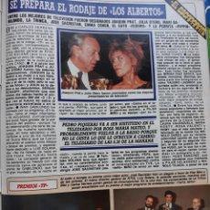 Collectionnisme de Revues et Journaux: LA TRINCA JULIA OTERO JOAQUIN PRAT BIBI ANDERSON CARLOS HERRERA . Lote 143106394